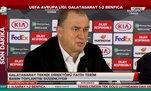 """Fatih Terim'den UEFA'ya eleştiri: """"Üvey evlat..."""""""