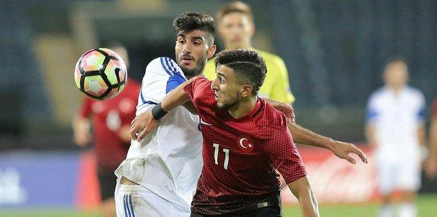 Ümit Milli Takım, Çekya ile 1-1 berabere kaldı