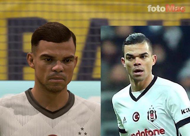 FIFA 19da Süper Ligdeki futbolcuların yüzleri