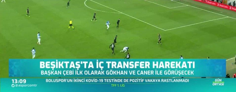 Beşiktaş atağa kalktı! Gökhan Gönül ve Caner Erkin...