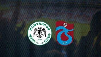 Konyaspor - Trabzonspor   CANLI