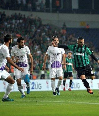 Sakaryaspor: 1 - Afjet Afyonspor: 2 | Afjet Afyonspor TFF 1.Lig'e yükseldi