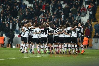 Beşiktaş kadın takımına yoğun ilgi