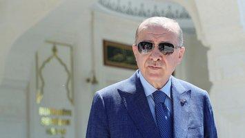 """Başkan Erdoğan'dan EURO 2020 mesajı! """"Evlatlarım yanınızdayım"""""""