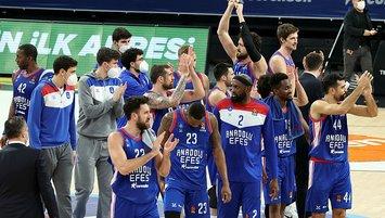 İşte EuroLeague'de sezonun en iyi 5'i! Anadolu Efes'ten...