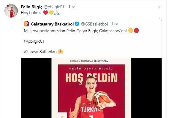 Onu Galatasaray kaptı! Fenerbahçe'de oynayan Pelin Bilgiç... - Futbol -