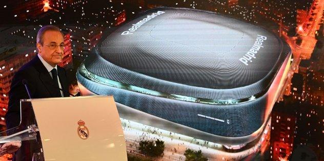 Real Madrid'e muhteşem stat! İşte yeni Bernabeu