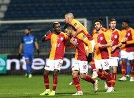Kasımpaşa-Galatasaray maçından kareler: Feghouli'den müthiş gol!