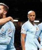 Manchester derbisinin kazananı City!