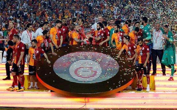 Galatasaray'ın kupa coşkusu