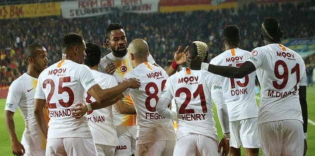 Evkur Yeni Malatyaspor 2-5 Galatasaray | Maç özeti