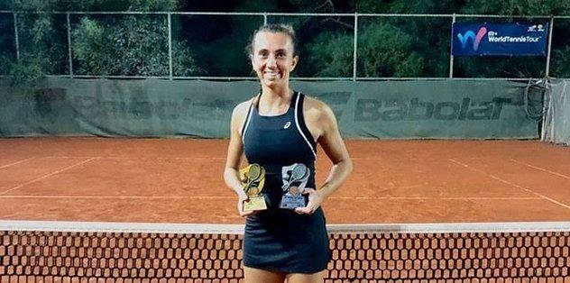 Milli tenisçi İpek Öz Antalya'da şampiyon