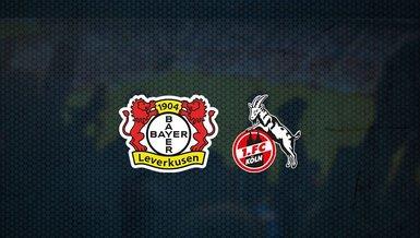 Bayer Leverkusen - Köln maçı ne zaman, saat kaçta ve hangi kanalda canlı yayınlanacak?   Almanya Bundesliga