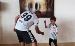 Boateng ailesi karantinada böyle eğleniyor | İZLEYİN