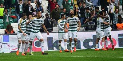 Bursaspor bu sezon bir ilki başardı