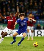 Çağlar Söyüncü, Premier Lig'deki ilk maçına çıktı