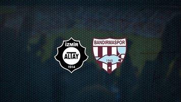Altay - Bandırmaspor maçı saat kaçta ve hangi kanalda?