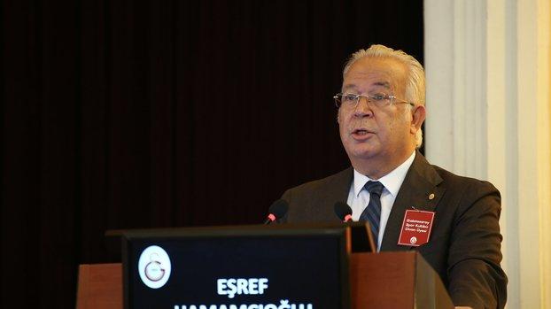 Galatasaray'da başkan adayı Eşref Hamamcıoğlu A Spor'a konuştu!