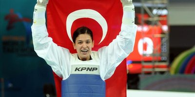 Turkish athlete wins gold medal in S. Korea