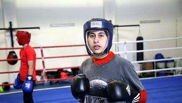 Yıldız milli boksör Sudenaz'ın hedefi olimpiyat şampiyonluğu!