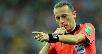 Cüneyt Çakır: Dünya Kupası'nda final yönetmek performansa bağlı değil her zaman