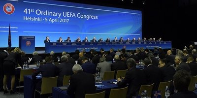 UEFA Genel Kurulu başladı