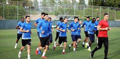 Alanyaspor'da Konyaspor mesaisi başladı