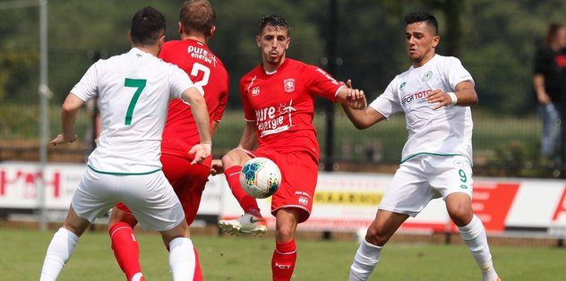 Konyaspor Twente'ye 1-0 mağlup oldu
