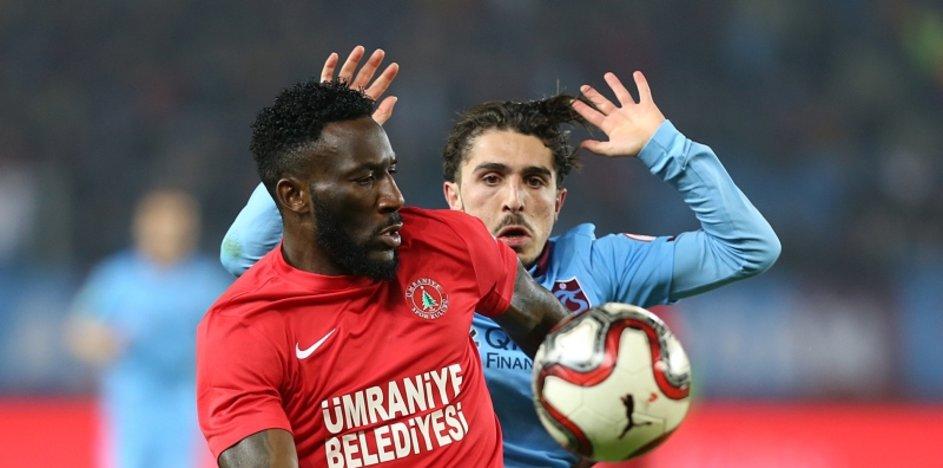 Trabzonspor - Ümraniyespor maçından kareler