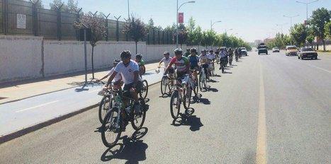 Diyarbakır'da bisiklet turu düzenlendi
