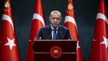 Başkan Erdoğan yeni kararları açıkladı!