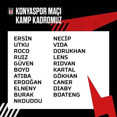 son dakika besiktasta ljajic konya macinda yok 1593105701568 - Beşiktaş'ta Ljajic Konya maçında yok!
