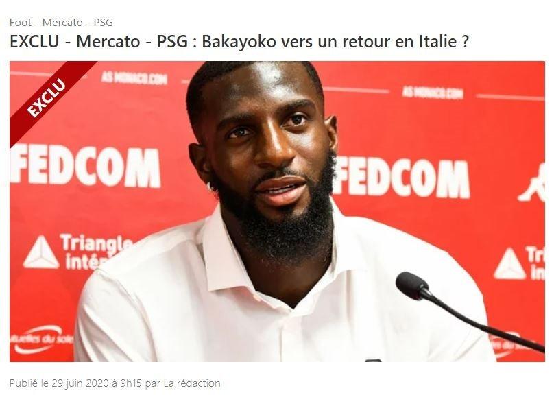 Galatasaray'ın ilgilendiği Bakayoko transfer kararını verdi! - Futbol -
