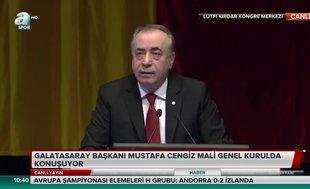 """Mustafa Cengiz: """"Gelirlerimizde yüzde 90 oranında artış sağladık"""""""