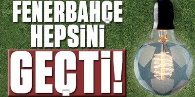 F.Bahçe, G.Saray ve Beşiktaş'a fark attı