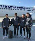 Konyaspor kafilesi Portekiz'e gitti