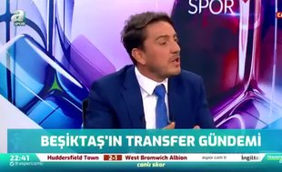 G.Saray'dan Beşiktaş'a transfer çalımı! Canlı yayında duyurdu