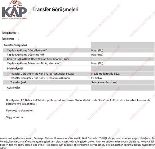 1598099542091 - Son dakika: Trabzonspor Flavio'yu resmen açıkladı!