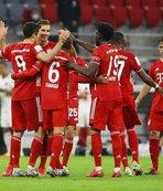 Bayern fırtınası kupada da esti!
