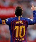 Barcelona'ya Sevilla'da galibiyeti Messi getirdi