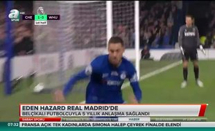 Eden Hazard Real Madrid'de