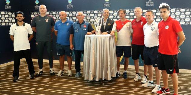 UEFA Bölgeler Kupası'nın medya günü yapıldı