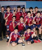 Gazi Ortaokulu namağlup şampiyon