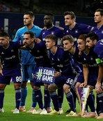 Fenerbahçe'nin rakibi Anderlecht deplasmanda güldü