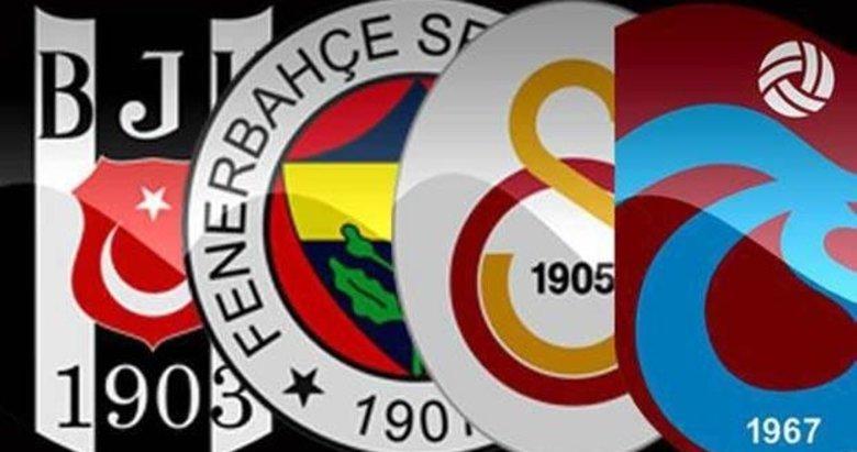 İşte Beşiktaş, Fenerbahçe, Galatasaray ve Trabzonspor'un transfer hamleleri!