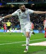 Real Madrid Kral Kupası'nda avantaj yakaladı