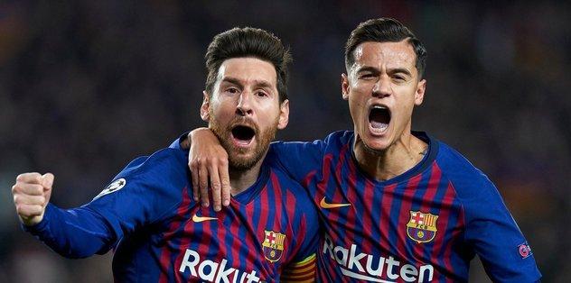 Rövanşların en iyisi Messi