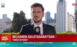 Belhanda Galatasaray'dan ayrılıyor mu? Canlı yayında açıkladı