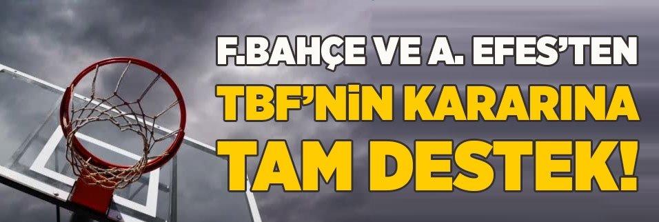 fenerbahce ve a efesten tbfnin kararina tam destek 1589210782882 - Türkiye Basketbol Federasyonu açıkladı! Ligin başlama tarihi...