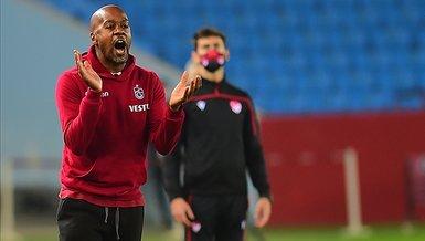 Trabzonspor Teknik Direktörü Eddie Newton sezon sonunu işaret etti